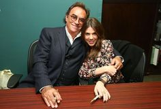 Days of Our Lives 50 Years: 2015 Book Signing Photo Gallery: Thaao Penghlis (Andre) and Kate Mansi (Abigail)