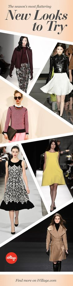 25 perfectly flattering picks for fall 2013. http://www.ivillage.com/new-york-fashion-week-fall-2013-s-most-wearable-runway-looks/5-b-521692?cid=pin|8-27-13|60