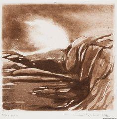 Pietilä, Tuulikki Suuri tyrsky (Saaristo 20) 1976 Finland, Abstract, Artwork, Painting, Museum, Summary, Work Of Art, Auguste Rodin Artwork, Painting Art