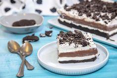 Egy finom Oreo lasagne (sütés nélküli desszert) ebédre vagy vacsorára? Oreo lasagne (sütés nélküli desszert) Receptek a Mindmegette.hu Recept gyűjteményében! No Bake Cake, Tiramisu, Oreo, Baking, Sweet, Ethnic Recipes, Food, Cakes, Lasagna