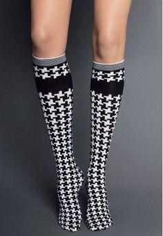 houndstooth socks for #crossfit #RollTide