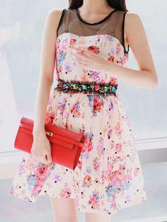 go on a date eyelet dress $49 #asianicandy #summer #fashion #kstyle #kawaii #japanese #koreanfashion #juniorfashion #sweet