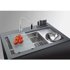 Culinary Work Station Sink.  Culinary Work Station Sink.- Awesome food prep sink!