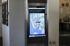 NYC subway replacing station maps with touch screen kiosks By Jonathan Fincher March 21, 2013 The new On The Go! touch screens will display all sorts of useful information for commut...