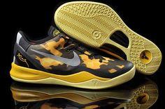 b5c28541456 Cheap Nike Kobe 8 Women Yellow Black