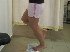 Cvičení s pokrčeným kolenem