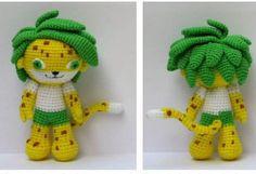 green hair lion