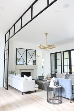 Beautiful modern living room with plinth coffee tables - the House of Silver Lin. Beautiful modern living room with plinth coffee tables - the House of Silver Lining Fall Home Decor, Home Living Room, Room Design, Living Room Furniture, Home Decor Trends, Home Decor, Trending Decor, Interior Design, Home And Living