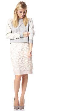 1cdecd7987e Loving Crochet Pencil Skirt - Skirts - French Connection Usa Summer Work  Fashion