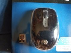 New HP 2.4GHz Wireless Optical Portable Mouse 3 Buttons for Laptop or PC