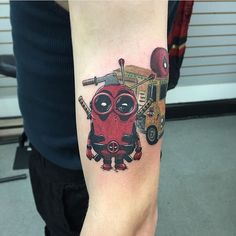 45 Dashing Deadpool Tattoo Designs - Redefining Deadpool with Ink