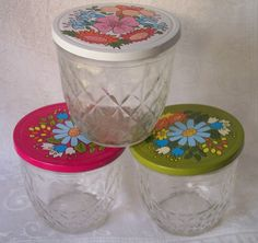 Eight Vintage  Ball Quilted Crystal Mason Jelly Jars  fruit lid ... : ball quilted crystal - Adamdwight.com