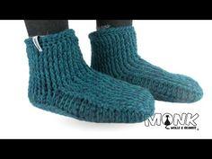 Simple Crocheted Booties - Adult crochet booties - Beginner booties pattern - YouTube