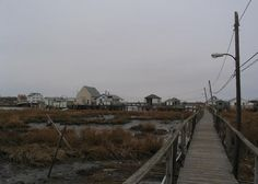 East 12th Road Towards Channel Drive, Broad Channel, Queens