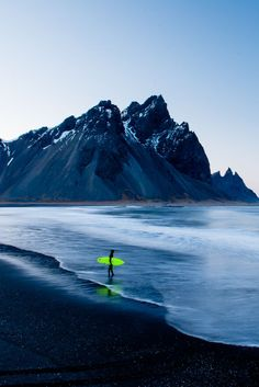 Surfer by Chris Burkard