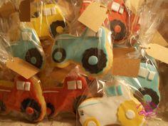 Dulces felicidades: #Galletas fondant #tractor
