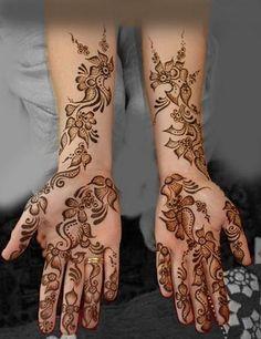 Bridal Henna.
