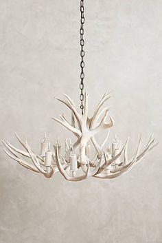 Faux Antler Chandelier For Home Decor Antler Lights, Antler Chandelier, Chandeliers, Driftwood Chandelier, Simple Chandelier, Decorating Your Home, Interior Decorating, Decorating Ideas, Decor Ideas