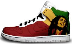 bob marley cake images | Cool Trainers - Custom Nikes from Sneaker Freaker | Cool Things ...