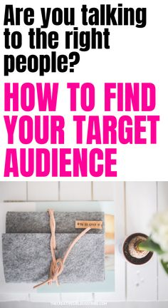How to start a blog: how to find your target audience. If you want to be a successful blogger, you have to fully understand who you are talking to. Learn the easiest strategy to use to find your target audience.