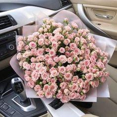 """""""Be happy. Luxury Flowers, My Flower, Fresh Flowers, Beautiful Flowers, Pink Flowers, Flower Aesthetic, Elizabeth Ii, Planting Flowers, Floral Arrangements"""