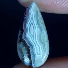 4.35Cts.100% Natural DESIGNER CRAZY LACE AGATE PEAR CABOCHON LOOSE GEMSTONE #Handmade