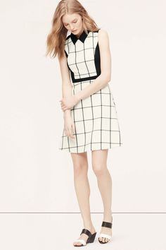 Easy Work Dresses For Rushed Mornings #refinery29  http://www.refinery29.com/easy-work-dresses#slide-1  Like the grid on your Excel sheet, but much more chic.