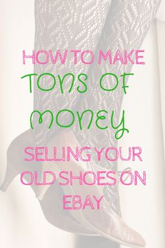 How to make TONS OF MONEY if you sell smelly shoes on eBay. I can't believe that…