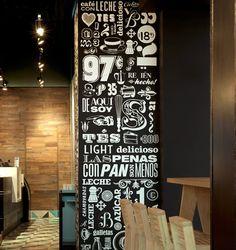 Café typography
