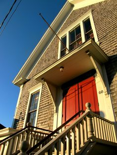 Built in 1878 the Woods Hole Community Hall still hosts many town gatherings.