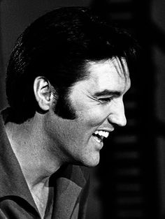 Elvis Presley. He's adorable. I wish I could've met him. I love him so much.