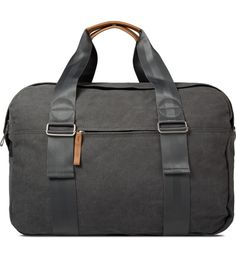 QWSTION Washed Grey Weekender Bag | HYPEBEAST Store. Shop Online for Men's Fashion, Streetwear, Sneakers, Accessories