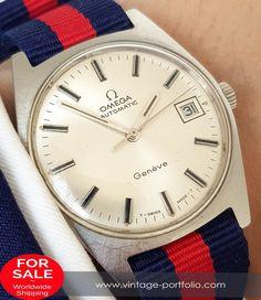 Original Omega Geneve Automatic Automatik Date Steel Vintage #omega #omegawatches #omegavintage #vintageos