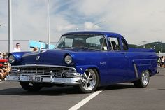 56 ford crown victoria ranchero, my dad had one back in the day. Pickup Car, Pickup Trucks, Ford Classic Cars, Classic Trucks, Hot Rod Trucks, Old Trucks, Car Ford, Ford 4x4, Automobile