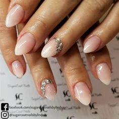 213 Best Bridal Wedding Nail Art Images On Pinterest In 2018