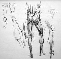 Figure Drawing Tutorial, Male Figure Drawing, Figure Drawing Reference, Anatomy Reference, Life Drawing, Body Sketches, Anatomy Sketches, Drawing Sketches, Drawings