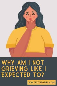 "Absent grief is common, but often when people experience it they wonder, ""What's wrong with me? Why am I not grieving? Anticipatory Grief, Complicated Grief, Acute Stress, Whats Wrong With Me, Psychology Disorders, Never Have I Ever, Spiritual Beliefs, Negative Emotions, Coping Skills"