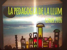 La pedagogia de la llum (gen. 2016) / La pedagogia de la luz (ene. 2016) - YouTube Reggio Children, Overhead Projector, Reggio Emilia, Light And Shadow, Light Table, Light Colors, Montessori, Glow, Shadows