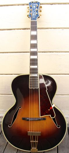 D'Angelico Excel Acoustic Archtop Guitar, Vintage 1935