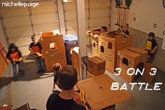 Nerf Gun Party! This looks like so much fun!