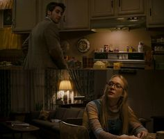 Love the softness, the texture of the room. Kitchen reference Zodiac (2007) / Dir. David Fincher / DP. Harris Savides