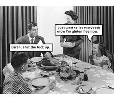 Seriously Sarah, STFU