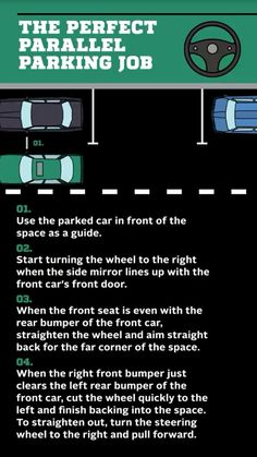 How to parallel park.and get good at it - Before After DIY Driving Tips For Beginners, Driving Basics, Driving Test Tips, Driving Rules, Driving Safety, Driving School, Driving Practice, Driving Teen, Car Life Hacks