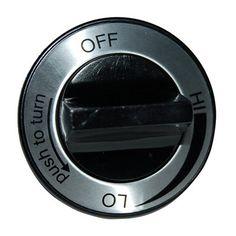 Heavy Duty BBQ Parts 01800 Plastic Control Knob for Charmglow Brand Gas Grills
