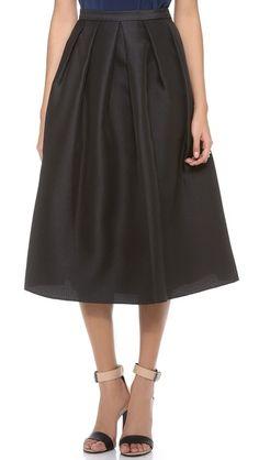 Tibi Simona Jacquard Skirt,Just Got the Last Black one in my Size......... Love Love Love