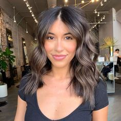 Gorgeous Natural Bronde Balayage Hair Color Ideas for 2019 - All For Hair Color Balayage Brunette Hair Color With Highlights, Dark Brunette Hair, Ash Brown Hair Color, Brown Blonde Hair, Hair Color Balayage, Hair Highlights, Ombre Hair, Ashy Hair, Ash Brown Hair Balayage