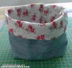 Come creare un sacchetto di stoffa   Tutorial di Cucito Creativo