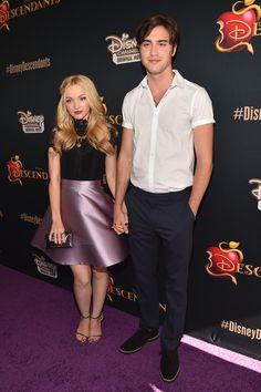 Dove Cameron Pictures Celebrities Attend the Premiere of Disney's 'Descendants' -