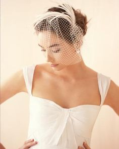 pretty bridal fascinator