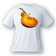 Les Paul 1959 vintage image guitar t-shirt gibson rock n roll music by artonstuffdesigns on Etsy